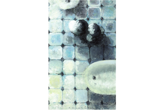 Duş 2012 Tuv. Üz. Yağlıboya 172x105 cm.