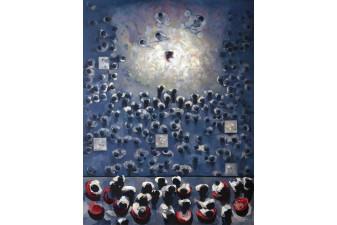 Konser, 145x110 cm, 2010