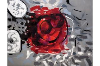 Pariste Aşk, 110x140 cm, 2010